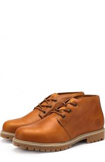 Кожаные ботинки Tibet на шнуровке Affex