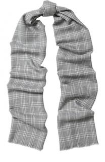 Шерстяной шарф в клетку Loro Piana