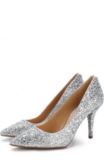 Текстильные туфли Flex с глиттером MICHAEL Michael Kors
