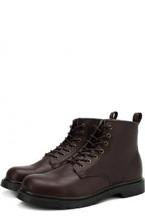 Кожаные ботинки London на шнуровке Affex