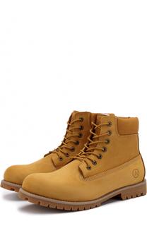 Кожаные ботинки New York на шнуровке Affex
