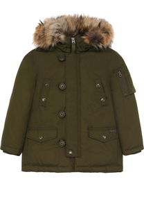 Куртка с отделкой на капюшоне Polo Ralph Lauren