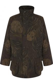 Куртка свободного кроя с принтом Yohji Yamamoto