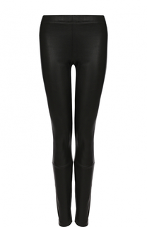 Однотонные кожаные брюки-скинни Haider Ackermann