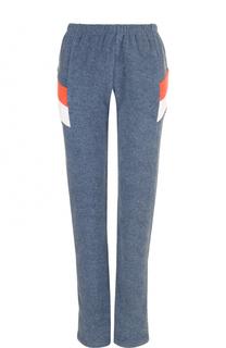 Хлопковые брюки прямого кроя с принтом Wildfox