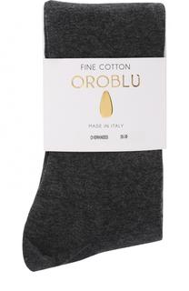 Однотонные хлопковые носки Oroblu