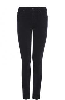 Укороченные однотонные джинсы-скинни Ag