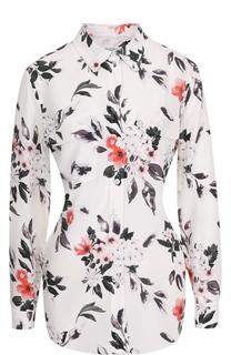 Шелковая блуза с цветочным принтом Equipment