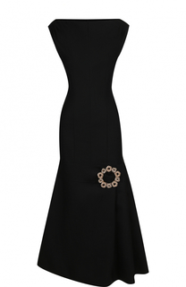 Приталенное шерстяное платье-миди Jacquemus