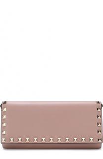 Кожаный кошелек Rockstud на цепочке Valentino