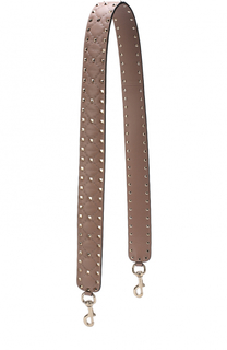 Кожаный ремень для сумки Rockstud Spike Valentino