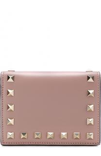 Кожаный кошелек Rockstud Valentino