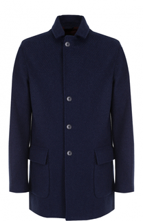 Однобортное кашемировое пальто Loro Piana