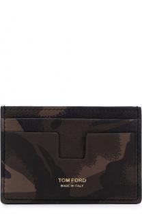 Кожаный футляр для кредитных карт Tom Ford