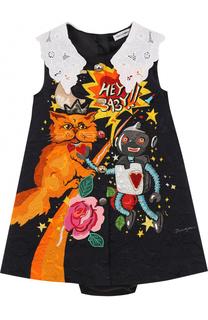 Комплект из мини-платья с трусами Dolce & Gabbana