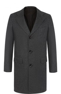 Однобортное кашемировое пальто Kiton