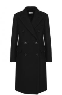Двубортное шерстяное пальто Dries Van Noten