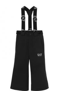 Спортивные брюки на подтяжках Ea 7
