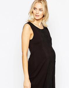 Платье-туника для беременных Ripe Maternity Sorrento - Черный