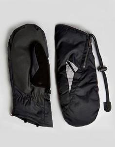 Лыжные перчатки Volcom Bistro - Черный