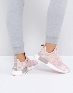 Розовые кроссовки adidas Originals NMD - Черный