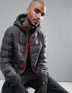 Куртка с капюшоном Spyder Geared Ski - Серый