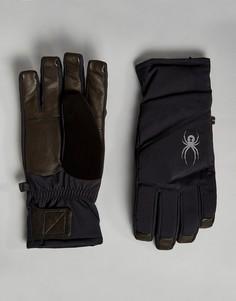 Лыжные перчатки Spyder Sweep - Черный