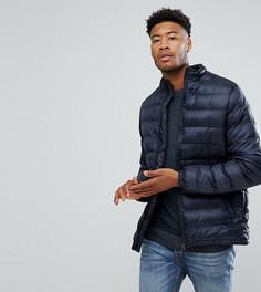 Легкая дутая куртка D-Struct TALL - Темно-синий