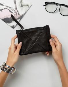 Кожаный кошелек Ichi - Черный