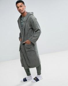 Махровый халат Calvin Klein - Зеленый