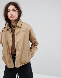 Спортивная куртка Stussy Temper - Бежевый