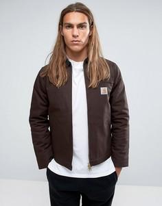 Куртка с вельветовым воротником Carhartt WIP Detroit - Коричневый