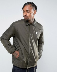 Спортивная куртка с подкладкой из искусственной цигейки Carhartt WIP - Зеленый
