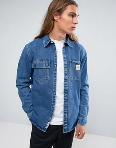 Джинсовая рубашка Carhartt WIP Salinac - Синий