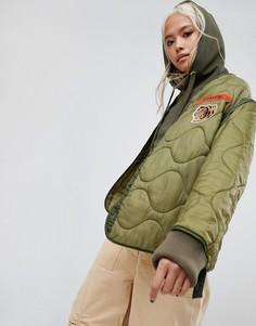 Куртка Maharishi Upcycled - Зеленый