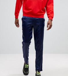 Темно-синие брюки скинни ASOS TALL - Темно-синий