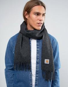 Шерстяной шарф Carhartt WIP - Серый
