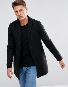 Пальто Stanley Adams - Черный