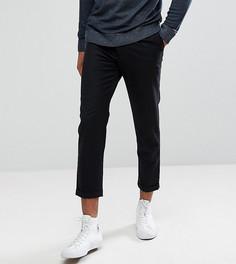 Укороченные брюки со складками Bellfield TALL - Черный