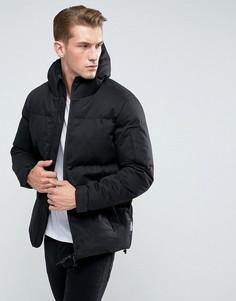 Дутая куртка с капюшоном Bellfield - Черный