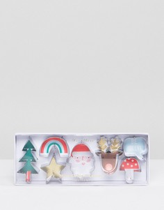 Новогодние маленькие формы для печенья Meri Meri - Мульти