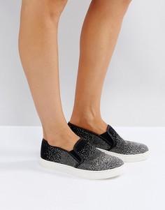 Кроссовки-слипоны Carvela - Черный