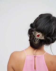 Филигранная заколка для волос в винтажном стиле ASOS - Мульти