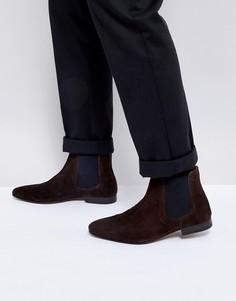 Замшевые ботинки челси KG By Kurt Geiger - Коричневый