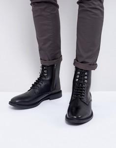 Ботинки в стиле милитари KG By Kurt Geiger - Черный