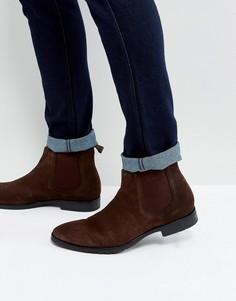 Коричневые кожаные ботинки челси Dead Vintage - Коричневый