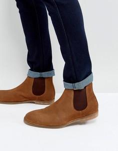 Светло-коричневые ботинки челси Dead Vintage - Рыжий