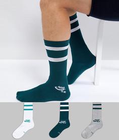 3 пары носков Nike SB SX5760-910 - Мульти