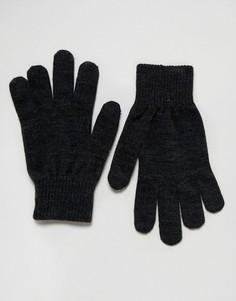 Темно-серые перчатки для сенсорных гаджетов Levis - Серый Levis®