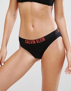 Классические плавки бикини Calvin Klein - Черный